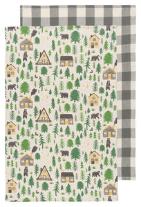 Wild and Free, Set of 2, Tea Towel
