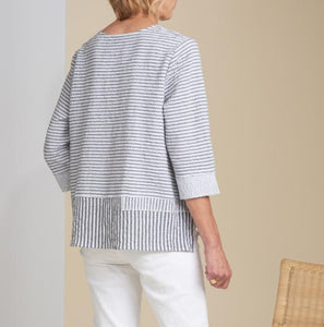 Bahama Stripe Pullover Top by Habitat