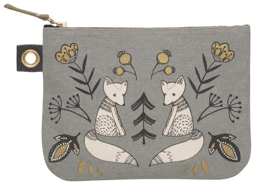 Wild Tale Large Zip Pouch