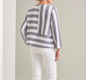 Cape Cod Stripe Jacket by Habitat