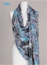 Paisley Print Cotton Scarf by Vivante