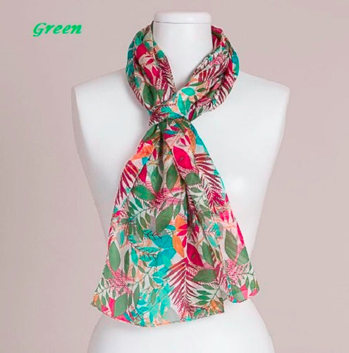 Leaf Design Scarf by Vivante