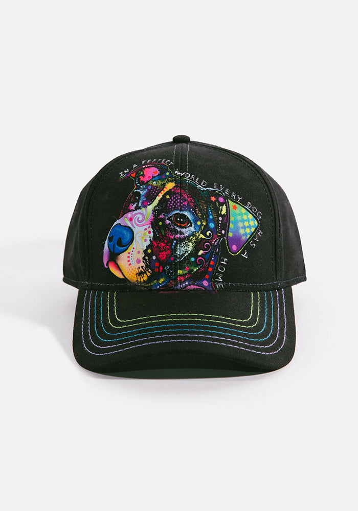 Unisex Ball Cap, Perfect World by Dean Russo