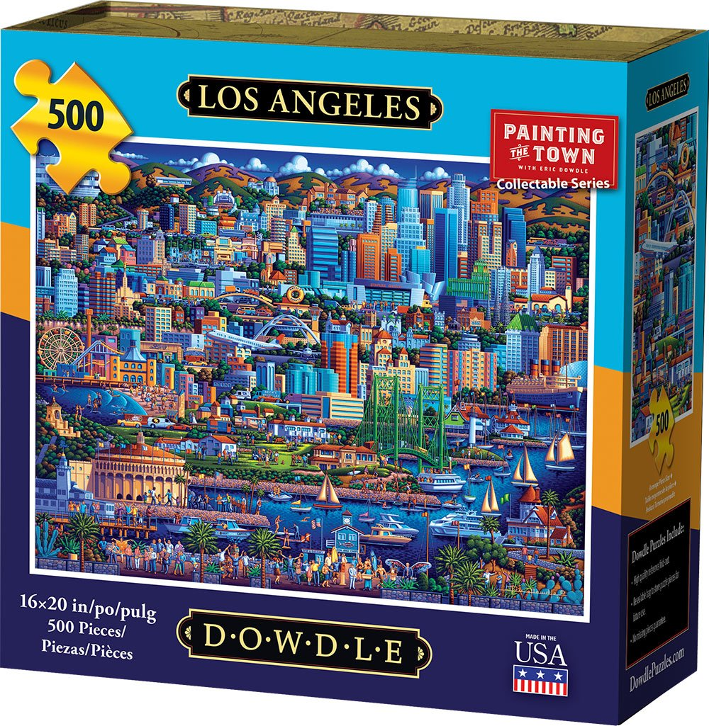 Los Angeles Jigsaw Puzzle, 500 Pieces