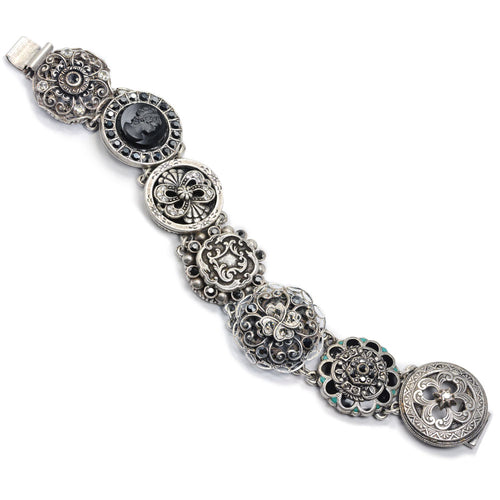 Silver Links Bracelet by Sweet Romance