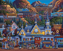 Train Station Jigsaw Puzzle, 500 Pieces