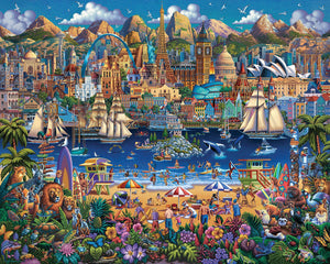 World Pieces, Jigsaw Puzzle, 1000 Pieces