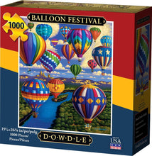 Balloon Festival Jigsaw Puzzle, 1000 Pieces