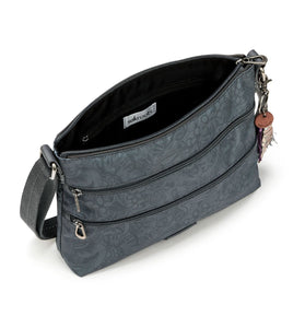 Grey Tonal Spirit Desert Basic Crossbody by Sakroots
