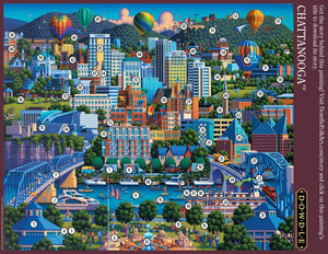 Chattanooga Jigsaw Puzzle, 500 Pieces