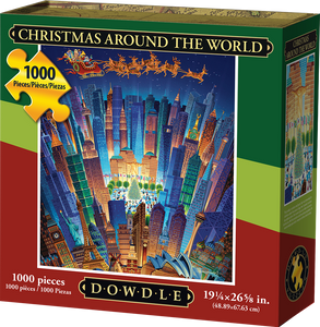 Christmas Around the World Jigsaw Puzzle, 1000 Pieces