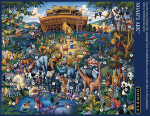 Noah's Ark Jigsaw Puzzle, 1000 Pieces