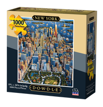 New York, Jigsaw Puzzle, 1000 Pieces
