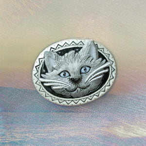 Cat Pin by Sweet Romance