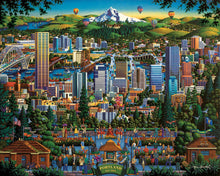 Portland, City of Roses, Jigsaw Puzzle, 1000 Pieces