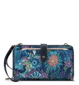 Royal Blue Seascape Large Smartphone Crossbody by Sakroots