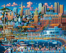San Francisco Pier, Jigsaw Puzzle, 500 Pieces