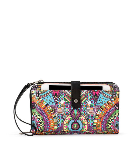 Rainbow Wanderlust Large Smartphone Crossbody by Sakroots