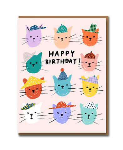 Cat Pals Card