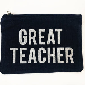 Great Teacher pouch
