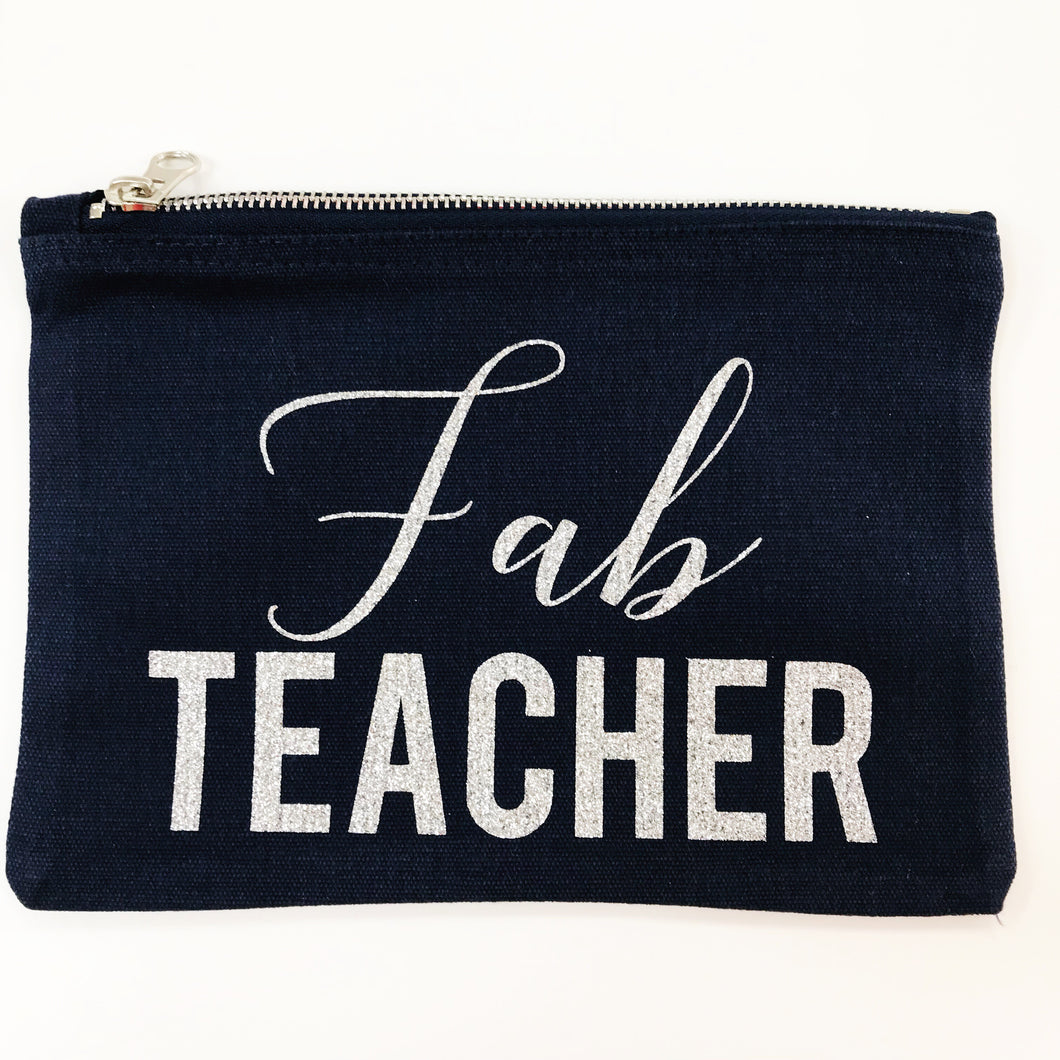 Fab Teacher pouch
