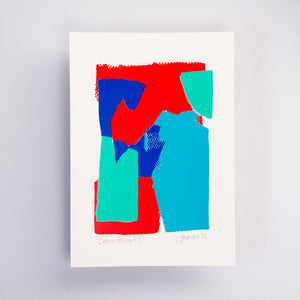 Colour Block #2 – Limited Edition Screen Print by the Completist
