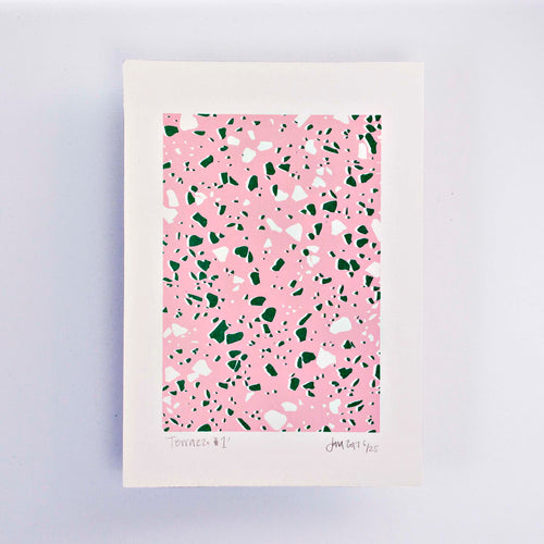 Terrazzo #1 – Limited Edition Screen Print