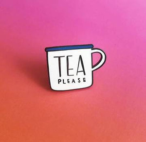 'Tea Please' Enamel Pin