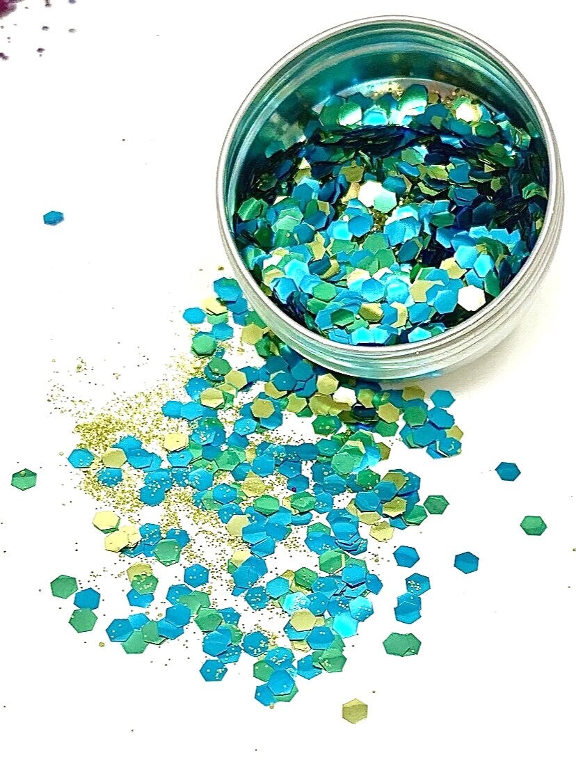 Glamavan Mermaid Goddess Mini Eco Glitter