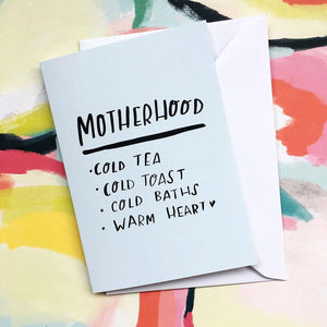 Motherhood Card