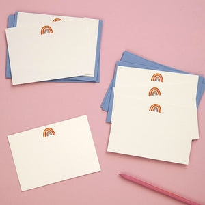 Rainbow Notecards