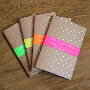 Gold Polka Dot Notebook