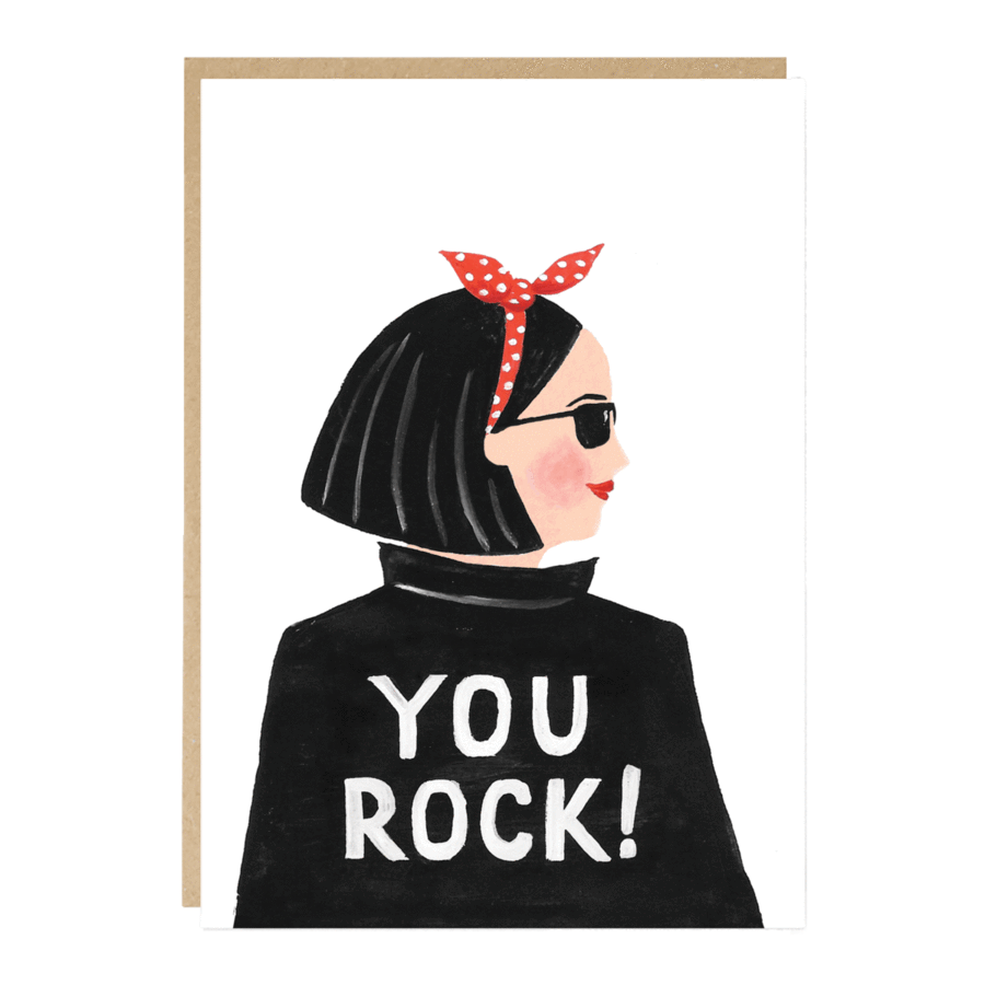 'You Rock' card