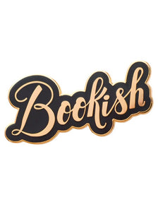 'Bookish' Enamel Pin