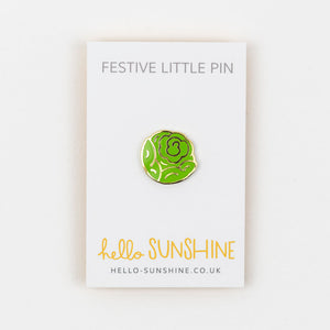 Brussel Sprout Pin