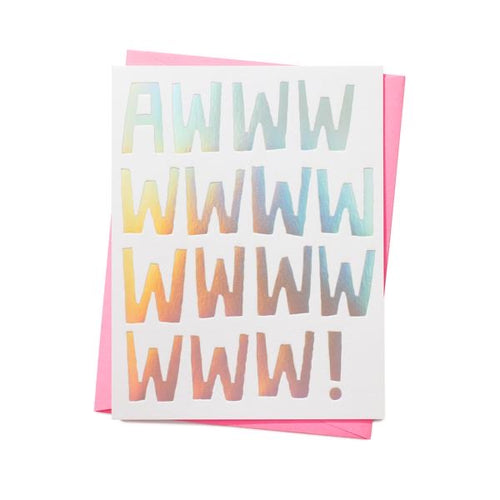 Awwwww Any Occasion Greeting Card
