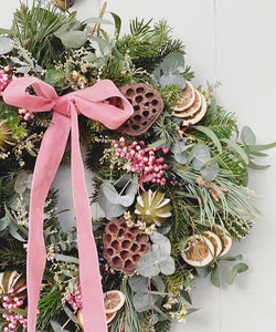 Alternative Wreath Workshop with Hayley, from Bloomfields, Tuesday 10th December, 7.30pm.