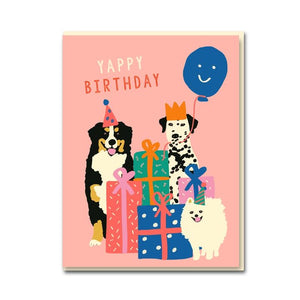 The Dogs 'Yappy Birthday' Card