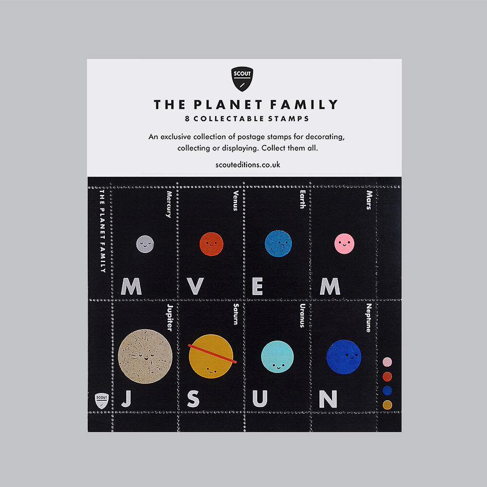 The Planet Family Stamp Set