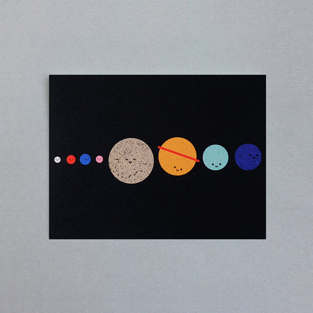 The Planets Mini Card