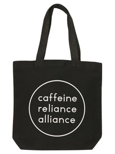 'Caffeine Reliance Alliance' Tote bag