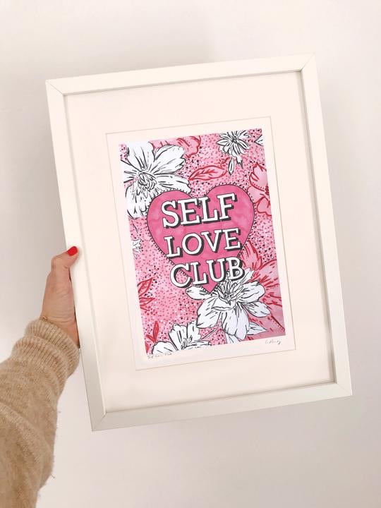 Self Love Club print