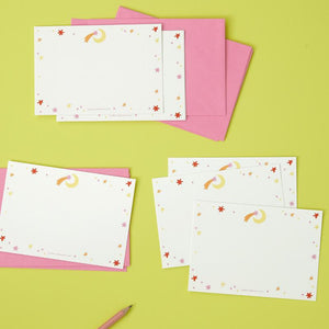 Shooting Star Notecards