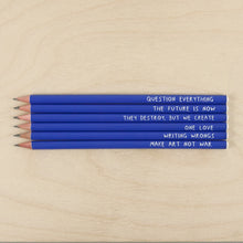 Sharp & Blunt Set Pencil Set - Peace Pencils