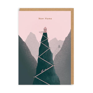 New Home Mountain Card