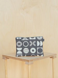 Medium Patterned Canvas Pouch
