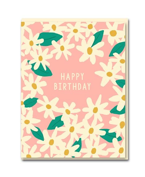 Happy Birthday 'Daisies' Card