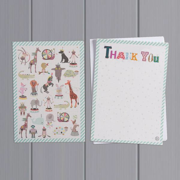 Thank You Card Pack - Pets Style