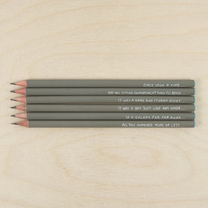 Sharp & Blunt Set Pencil Set - Storytellers