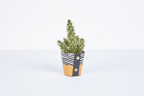 Plant Pot Cover - Wood Small